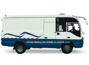 Dongfeng 115 Horsepower Closed Cargo Bus pictures & photos