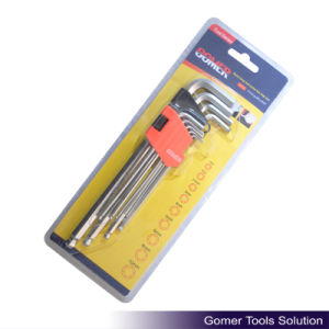 9PCS Extra Long Ball Point Hex Key (T01384)