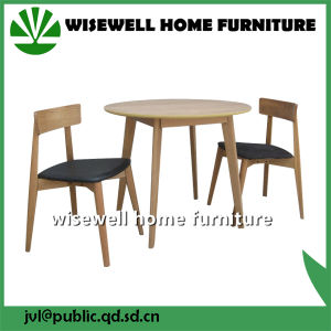 Solid Wood Table and Chairs for Coffee Shop pictures & photos