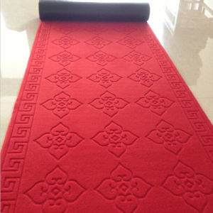 Indoor Outdoor Red Ribbed Entrance Mat Carpet pictures & photos