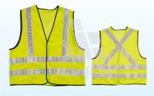 Jy-7001 Bright Industrial Reflective Safety Vest pictures & photos