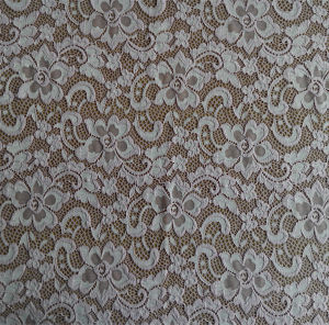 2015 Printting Lace Crochet Chemical Lace Fabric pictures & photos
