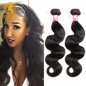 Queens Hair Product Indian Virgin Hair Body Wave Remy Indian Wavy Human Hair Extension 8A Indian Body Wave Virgin Hair pictures & photos