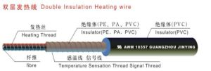 Double Layer PVC Insulated Heating Wire (UL 10357) pictures & photos