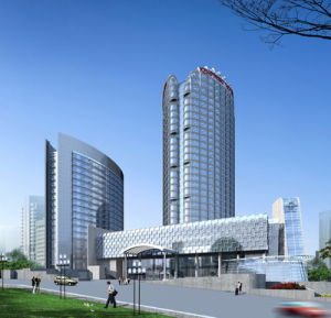High Rise Steel Structure Building (HX12070119, have exported 200, 000 tons)