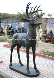 Iron Casting Deer/Deer Decoration/Iron Deer pictures & photos
