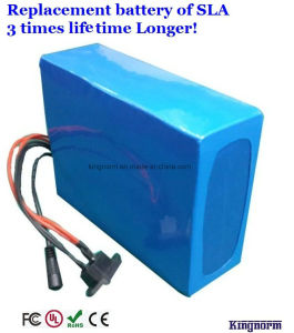 Customized 24V 30ah LiFePO4 Ebike Battery with BMS Charger pictures & photos