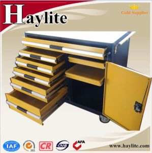 Powder Coating Tool Cabinet with Wheels pictures & photos