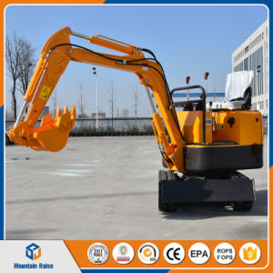 Ce Approved 800kg 08 Crawler Mini Excavator for Farm pictures & photos