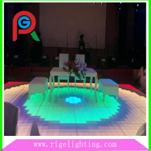 LED Lighted Glass Dance Floor (RG-DF125BV) pictures & photos
