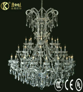 Newest Modern Design Luxury Crystal Chandelier Lamp (AQ09003-19+8+8+3) pictures & photos