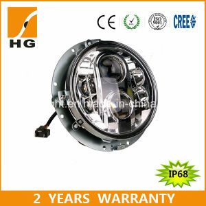 "CREE Motorcycle LED Tourpak Harley 7"" LED Headlight (HG-838A) pictures & photos"