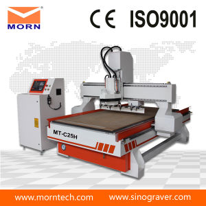 1530 Wooden Door Making Machine, Linear Atc CNC Router for Wood Furniture pictures & photos