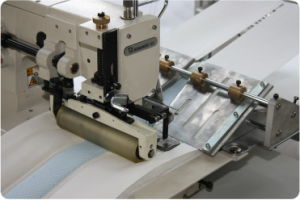 Ctf Mattress Border Logo Tape Sewing Mattress Machine pictures & photos