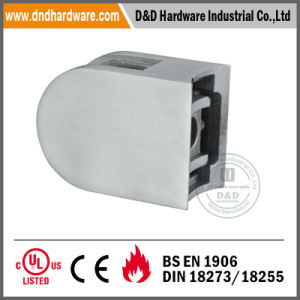 Middle D Type Glass Clip for Internal Doors pictures & photos