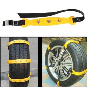 New 10PCS/Lot 37X4.7cm Car Tire Snow Chains Beef Tendon Van Wheel Tyre Anti-Skid TPU Chains DHL Free Shipping pictures & photos