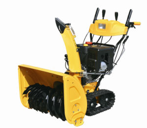 High Quality 11HP Loncin Gasoline Snow Thrower (ZLST1101Q) pictures & photos