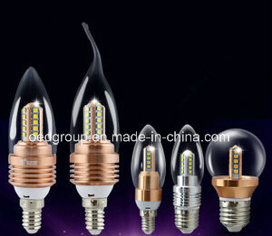 Tower Shape 3W/5W LED E14 Candle Lamp pictures & photos