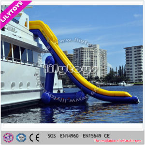 Giant Inflatable Yacht Water Slide for Sale