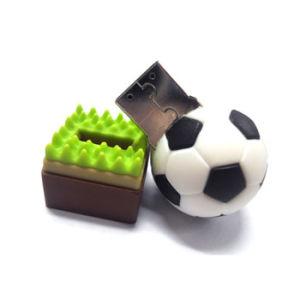 PVC Football Flash Memory Stick Pen Drive USB Flash Drive pictures & photos