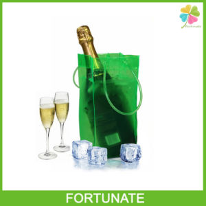 OEM Waterproof Plastic PVC Wine Ice Bag with Handle pictures & photos