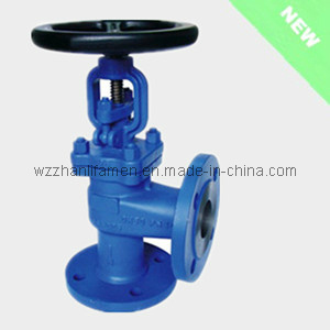 DIN Angle Type Globe Valves (J44H) pictures & photos