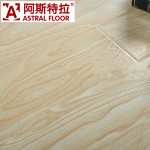 HDF Waxed 12mm Embossed Surface Laminated Flooring (AS88001) pictures & photos