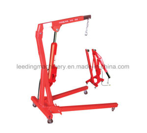 1ton Pneumatic/Hydraulic Shop Crane Engine Cherry Picker Hoist Lift  pictures & photos