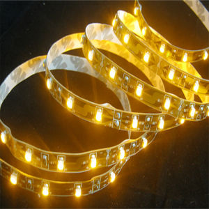 SMD3528 Yellow LED Flexible Strip (ZD-FS3528-60Y) pictures & photos