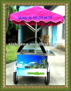 Smart Ice Cream Trolley (CE approve hot-sellings) pictures & photos