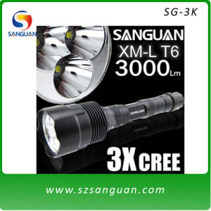 High Brightness CREE Xm-L LED Flashlight