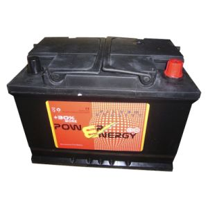 12V 80ah Maintenance Free Lead Acid Car Storage Battery pictures & photos