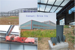EPS/Rock Wool Sandwich Panel Insulated Warehouse/Workshop (DG2-015) pictures & photos