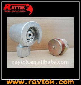 "1/8"" Steel Button Type Grease Coupler Used for Lubrication"