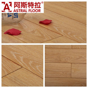 Waterproof Plywood Oak Laminate Flooring12mm/Mirror Surface /High Gloss /Laminate Flooring (6604) pictures & photos