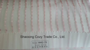 New Popular Project Stripe Organza Voile Sheer Curtain Fabric 008275 pictures & photos