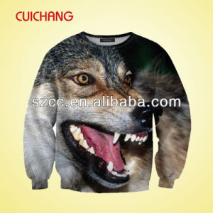 Men′s Sweatshirt with Sublimation Print pictures & photos