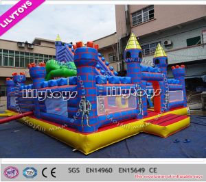 2015 Newest Customized Inflatable Slide Playground for Sale (Lilytoys-New-041)