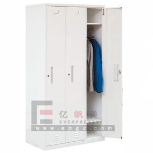 High Quality Dressing Storage Metal Cabinet Wardrobe pictures & photos