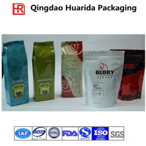 Stand up Coffee Pouch/ Plastic Coffee Bag with Zipper pictures & photos