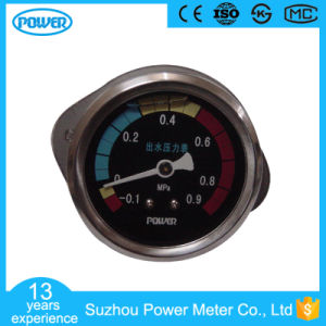 40mm Stainless Steel Glycerin Filled Water Pressure Gauge with Clamp pictures & photos