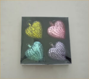 Antique Silver Heart Shaped Glass Craft pictures & photos
