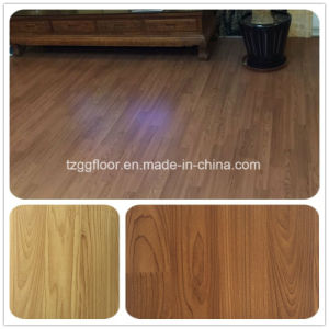 Factory Competitive Price Waterproof Fireproof PVC Vinyl Laminate Wood Flooring pictures & photos