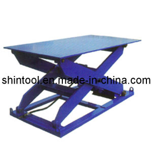 Manual Lift Table (Sjg2-0.9) /Stationary Lift Table pictures & photos