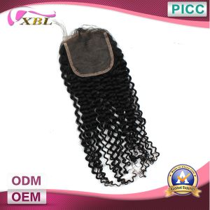 Wholesale Human Hair Brazilian Lace Closure pictures & photos