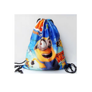 Recycle Promotion Gym Sack Drawstring Bag pictures & photos