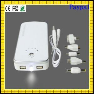 Full Capacity Paypal Payment Portable 9000mAh Power Bank (GC-PB023) pictures & photos