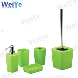 Bathroom Accessory with Quadrate Tapered Part (WY1005 Green)