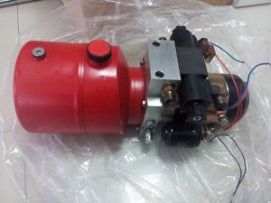 DC 12V 6L Steel Tank Double Acting Hydraulic Power Unit pictures & photos