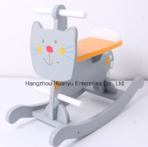 New Design Wooden Rocking Animal-Cat Rocker pictures & photos